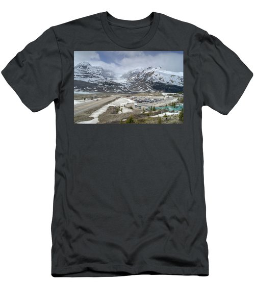 Icefields Parkway Highway 93 Men's T-Shirt (Athletic Fit)