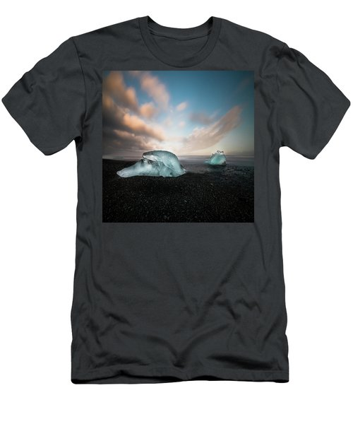 Iceland Glacial Ice Men's T-Shirt (Athletic Fit)