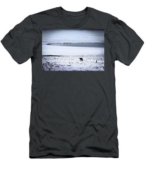 Icelandic Horse Men's T-Shirt (Athletic Fit)