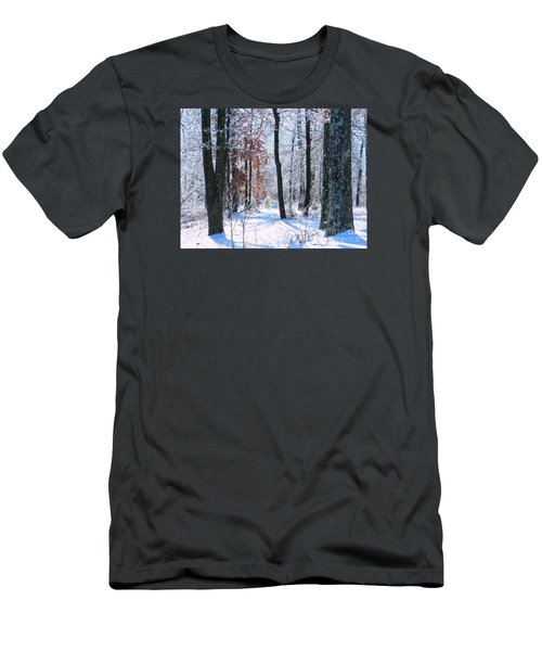 Icey Forest 1 Men's T-Shirt (Slim Fit) by Craig Walters