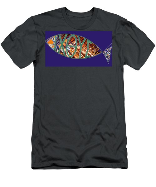 Ichthys Fish Men's T-Shirt (Athletic Fit)