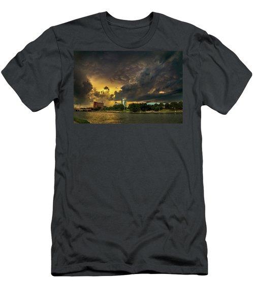 ict Storm - High Res Men's T-Shirt (Athletic Fit)