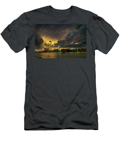 ict Storm - High Res Men's T-Shirt (Athletic Fit)