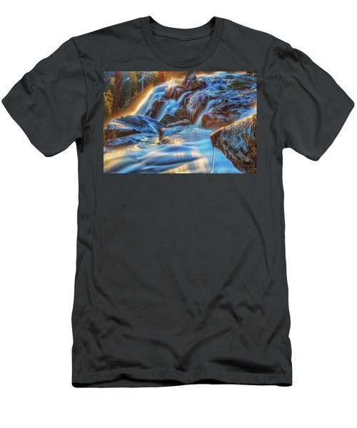 Icy Eagle Falls Men's T-Shirt (Athletic Fit)