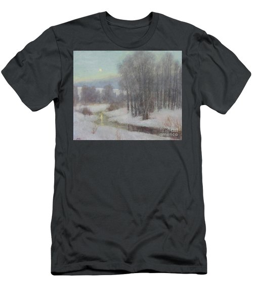 Icy Evening Men's T-Shirt (Athletic Fit)