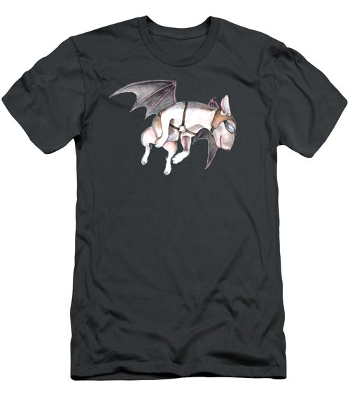 If Pigs Could Fly Men's T-Shirt (Slim Fit) by Jindra Noewi