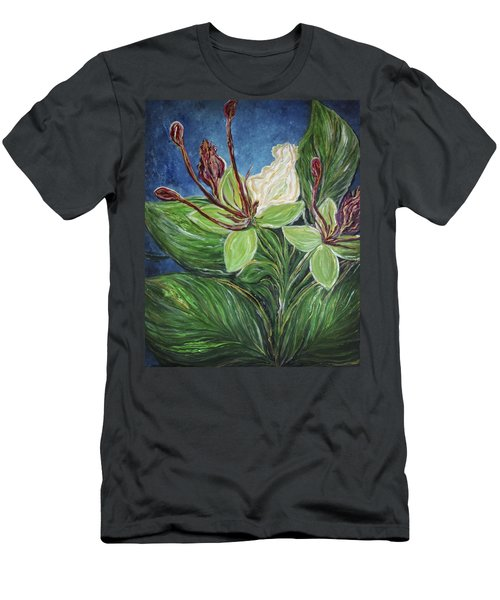 Ifit Flower Guam Men's T-Shirt (Athletic Fit)