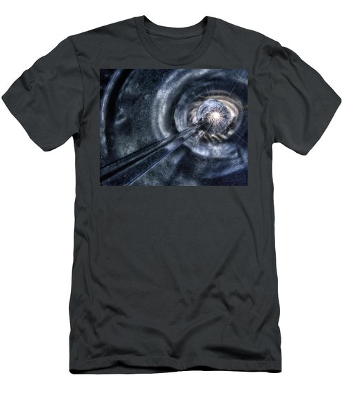 Men's T-Shirt (Slim Fit) featuring the photograph Ignition by Mark Fuller