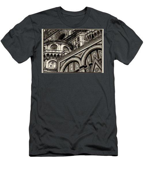 Il Duomo Di Firenze Men's T-Shirt (Athletic Fit)