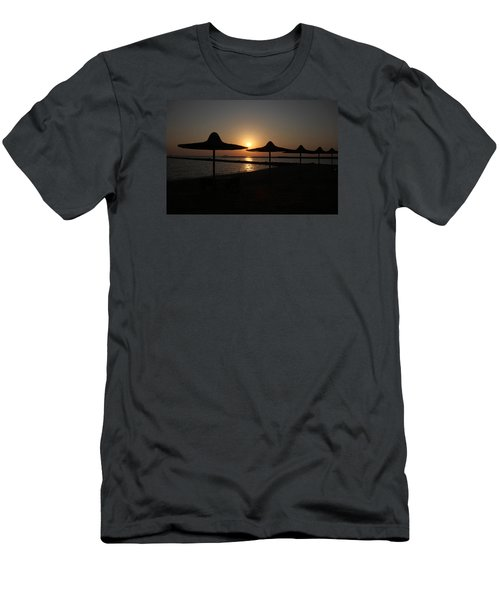 Men's T-Shirt (Slim Fit) featuring the photograph I'll Meander  by Jez C Self