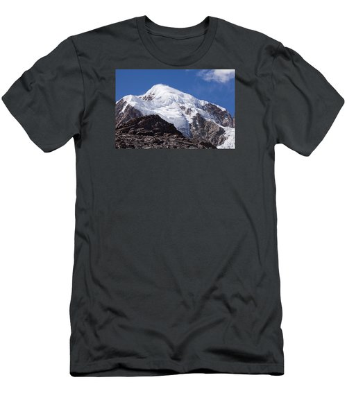 Illampu Mountain Men's T-Shirt (Athletic Fit)
