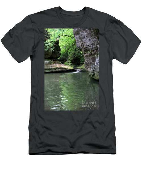 Illinois Canyon Summer Men's T-Shirt (Athletic Fit)