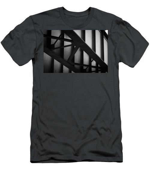 Illinois Terminal Bridge Men's T-Shirt (Athletic Fit)