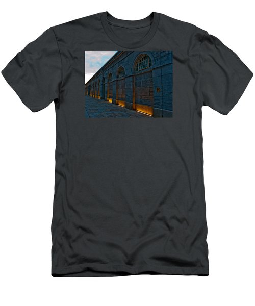 Illuminated Arches Men's T-Shirt (Slim Fit) by Helen Northcott