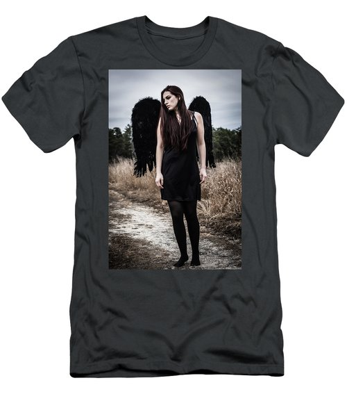 Men's T-Shirt (Slim Fit) featuring the photograph I'm No Angel by Brian Hughes