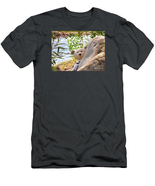 I'm Not Lost...because I Found You Men's T-Shirt (Athletic Fit)