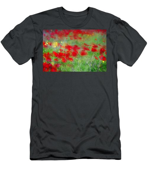 Impressionistic Blossom Near Shderot Men's T-Shirt (Athletic Fit)