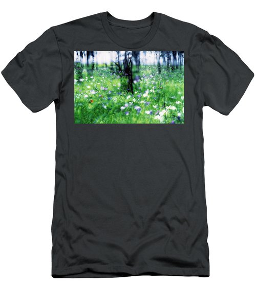 Impressionistic Photography At Meggido 1 Men's T-Shirt (Athletic Fit)