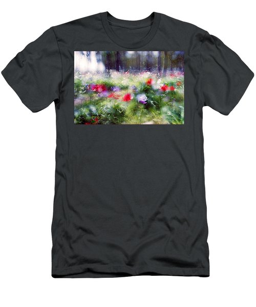 Impressionistic Photography At Meggido 2 Men's T-Shirt (Athletic Fit)