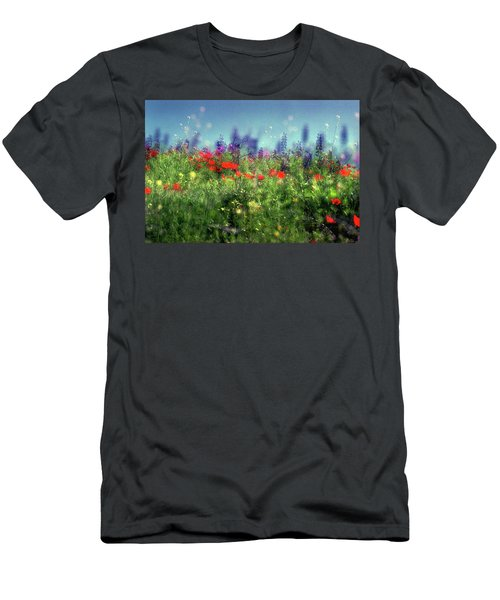 Impressionistic Springtime Men's T-Shirt (Athletic Fit)