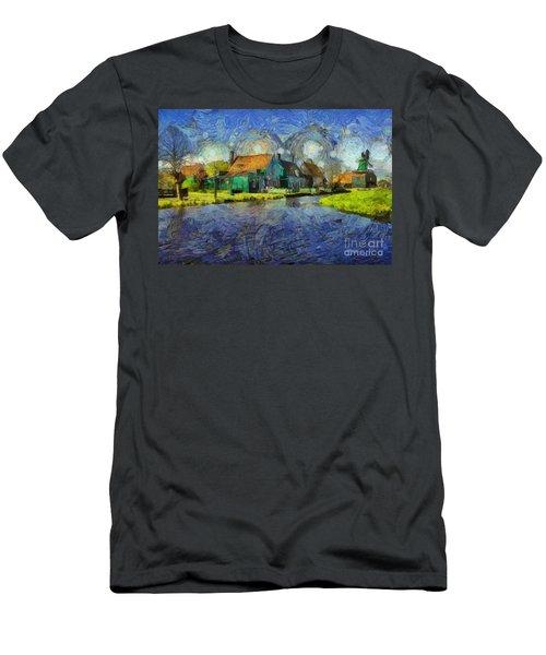 Impressions Of Zaanse Schans Men's T-Shirt (Athletic Fit)