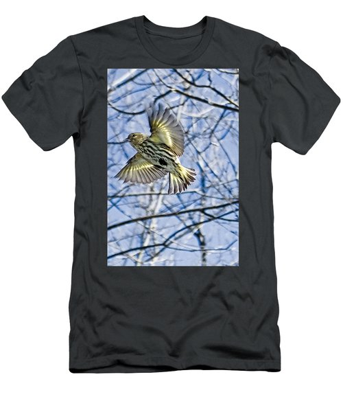 In A Flurry Of Wings Men's T-Shirt (Athletic Fit)