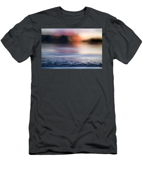 Men's T-Shirt (Athletic Fit) featuring the photograph In-between Days by Laura Fasulo