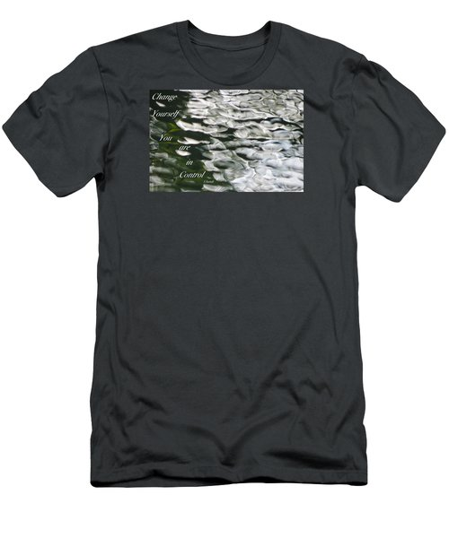 Men's T-Shirt (Slim Fit) featuring the photograph In Control by David Norman