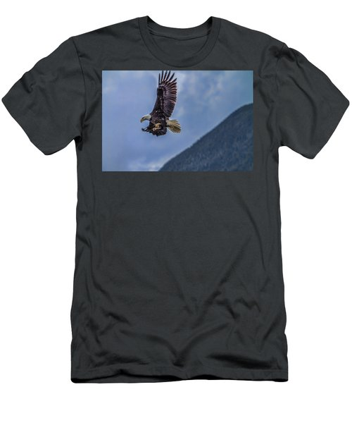 In Flight Lunch Men's T-Shirt (Athletic Fit)
