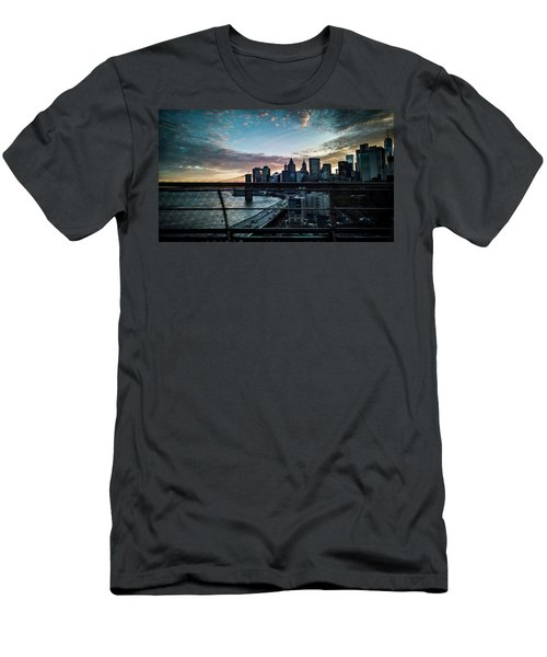 Men's T-Shirt (Athletic Fit) featuring the photograph In Motion by Johnny Lam