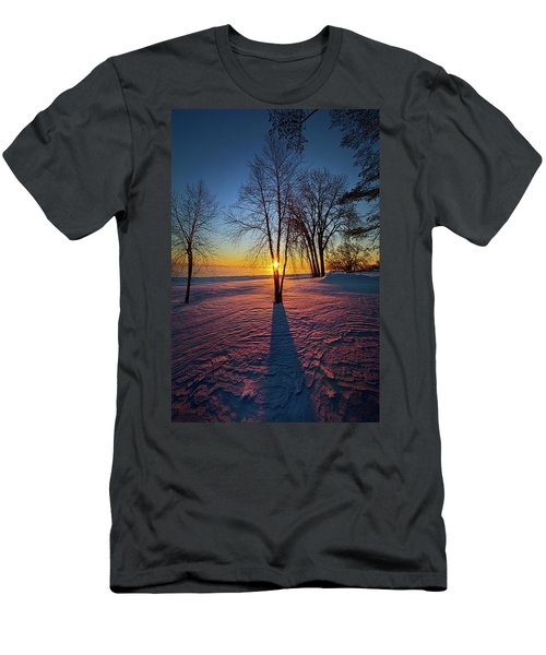 Men's T-Shirt (Slim Fit) featuring the photograph In That Still Place by Phil Koch