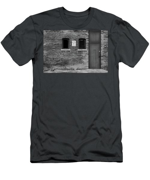 Men's T-Shirt (Athletic Fit) featuring the photograph In The Alley by Monte Stevens