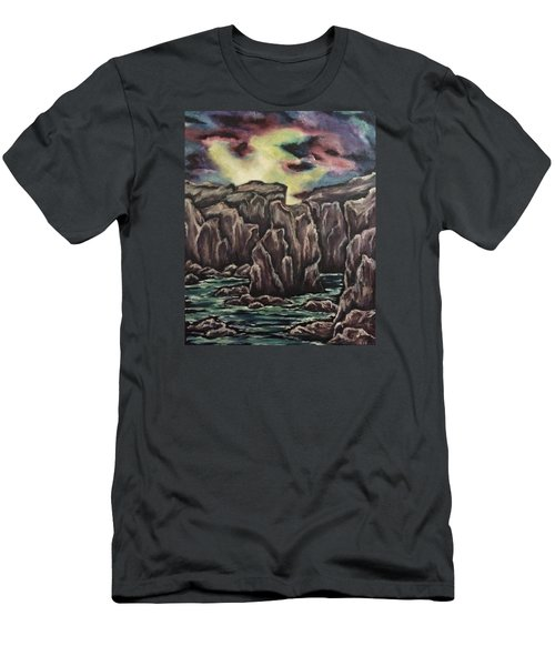 In The Land Of Dreams 2 Men's T-Shirt (Slim Fit) by Cheryl Pettigrew