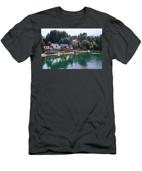 Rustic Museum In The Argentine Patagonia Men's T-Shirt (Athletic Fit)