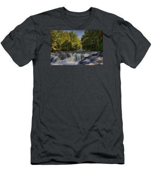 In The Middle Of The Middle Branch Men's T-Shirt (Slim Fit) by Dan Hefle
