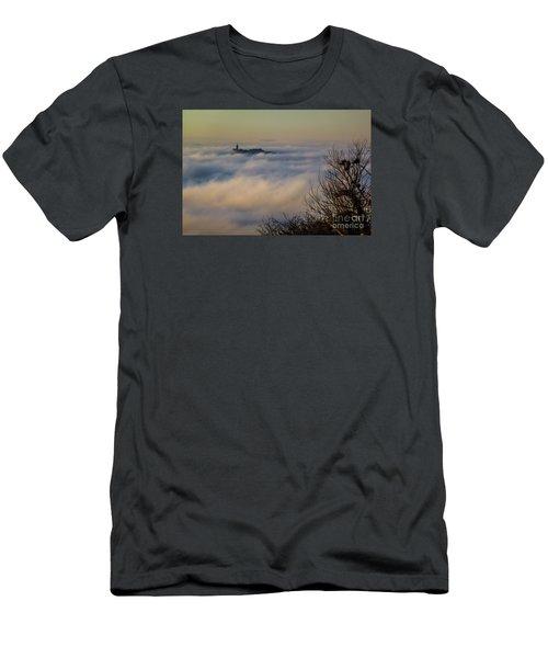 In The Mist 1 Men's T-Shirt (Slim Fit) by Jean Bernard Roussilhe