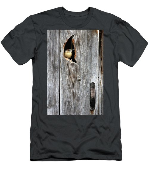 In The Outhouse Shed Men's T-Shirt (Athletic Fit)