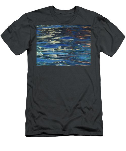 In The Pool Men's T-Shirt (Slim Fit) by Evelyn Tambour