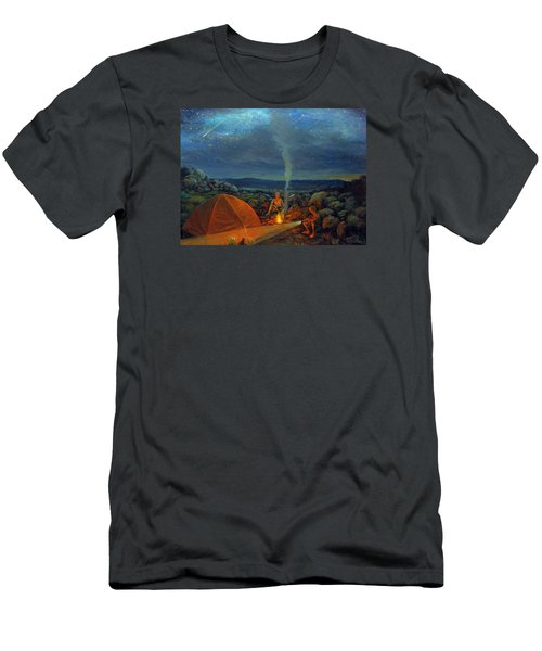 In The Spotlight Men's T-Shirt (Slim Fit) by Donna Tucker
