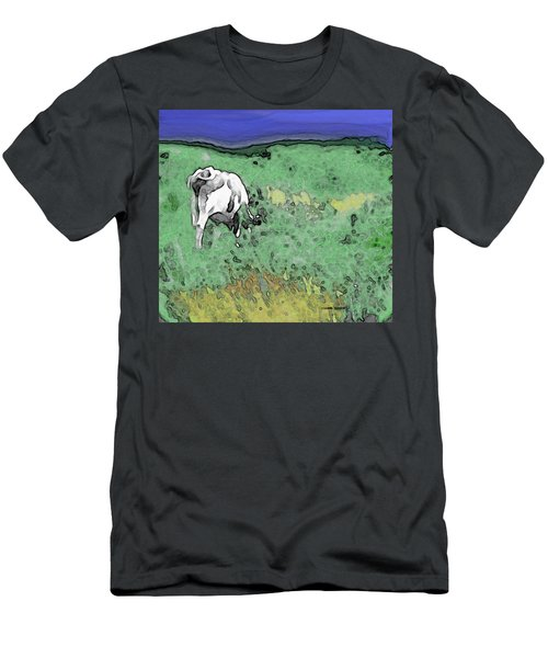 In The Sweet Fields Men's T-Shirt (Athletic Fit)