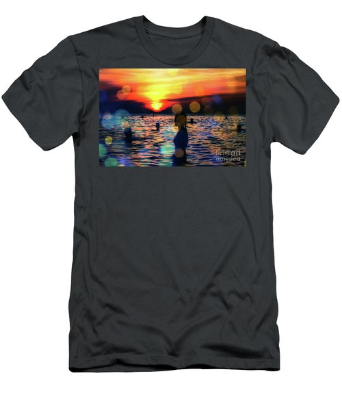 In The Water Men's T-Shirt (Athletic Fit)