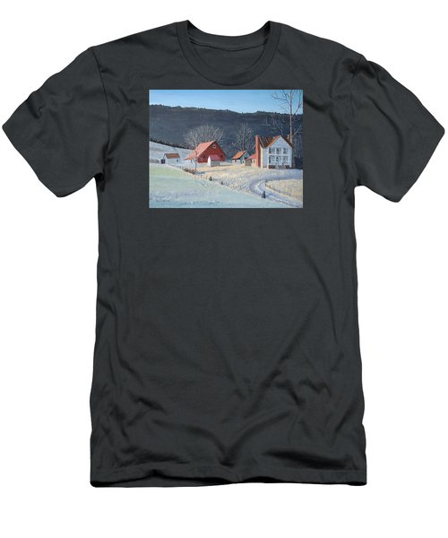 In The Winter Of My Life Men's T-Shirt (Slim Fit) by Norm Starks