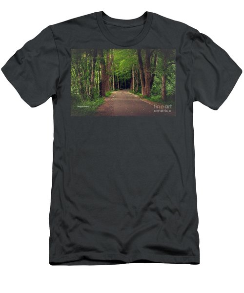 In To The   Deep Dark Woods  Men's T-Shirt (Athletic Fit)