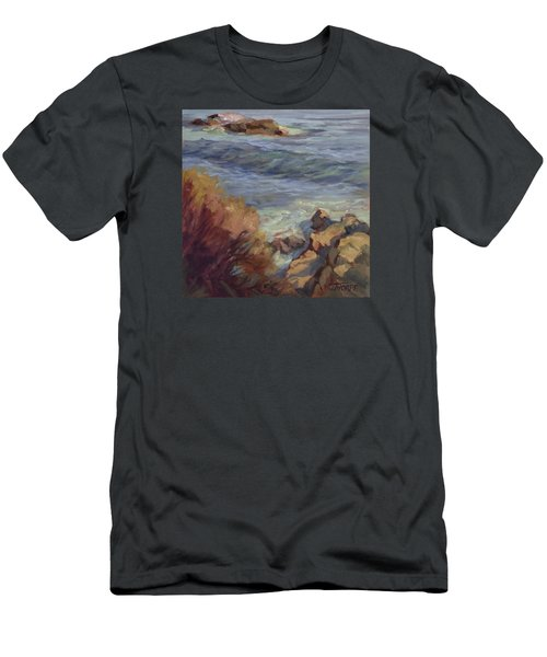 Incoming Wave Men's T-Shirt (Slim Fit) by Jane Thorpe