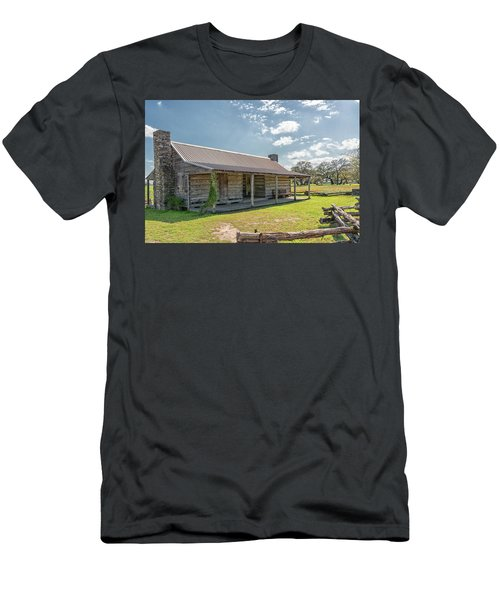 Independence Texas Cabin Men's T-Shirt (Athletic Fit)