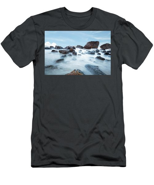 Indian Beach At Ecola State Park, Oregon  Men's T-Shirt (Athletic Fit)