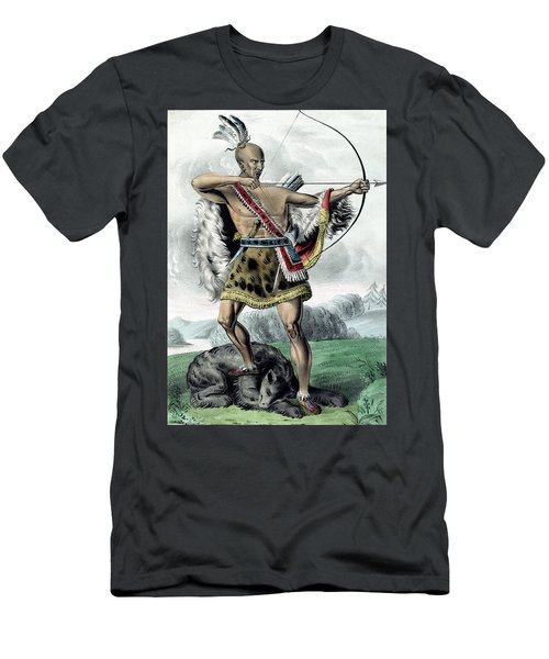 Indian Hunter - Remastered Men's T-Shirt (Athletic Fit)