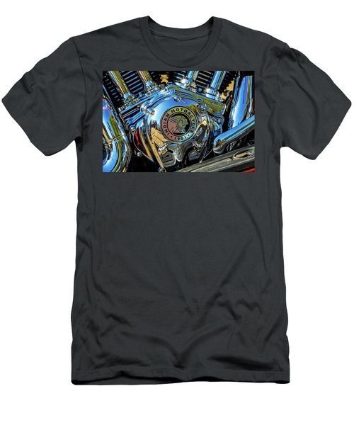 Indian Motor Men's T-Shirt (Slim Fit) by Keith Hawley
