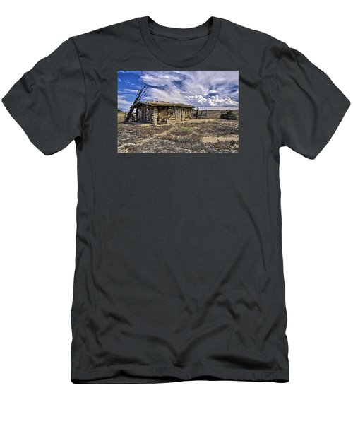 Indian Trading Post Montrose Colorado Men's T-Shirt (Slim Fit) by James Steele