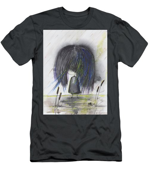 Indigo Child  Men's T-Shirt (Athletic Fit)